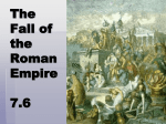 The Fall of the Roman Empire 7.6