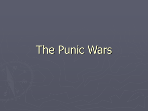 fallout from the second punic war