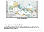 Roman Expansion During the Republic