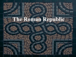 The Roman Republic Romulus and Remus