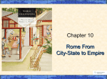 Chapter 10 Rome