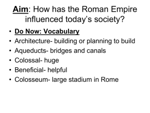 Contributions of Rome Picture Cards
