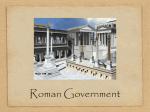 Roman Government - parkinsonworldhistory
