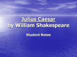 Themes in Julius Caesar