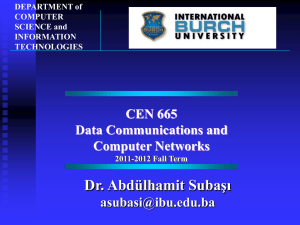 Introduction - Department of Information Technologies