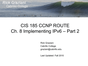 cis185-ROUTE-lecture8-IPv6-Part2