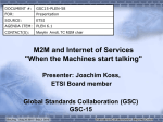 M2M and Internet of Services