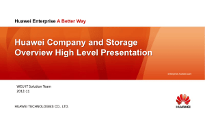 PT1-2 Huawei Enterprise Overview-Strategy-Org