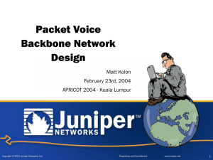 Juniper Networks Presentation Template-EMEA