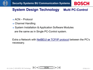 DCN MPCC System Design Technology