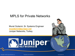 Service-Built Edge & CPE Initiative: M7i & M10i Overview