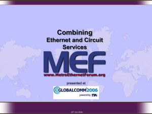 Introduction to the MEF