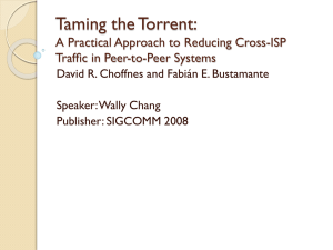 Taming the Torrent: A Practical Approach to Reducing Cross