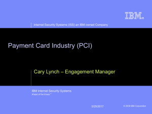 IBM Presentations: Blue Onyx Basic template