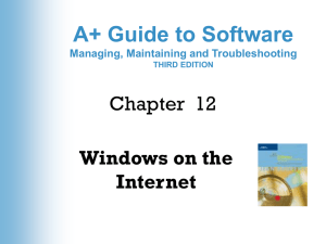 A+ Guide to Managing and Troubleshooting Software 2e