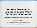 Network Evolution in Coming 10 Years: What's the Future of