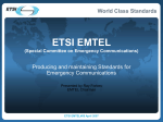 ETSI PowerPoint Presentation Template