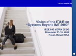 "Vision of the ITU-R on ""Systems Beyond IMT"