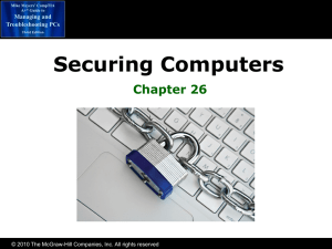 Chapter 26 Securing Computers