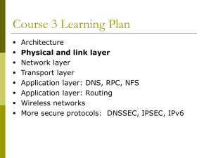 1.Physical Layer & Data Link Layer