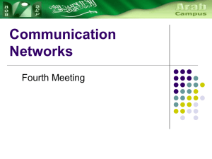 4 Communication networks