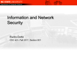 Security - Rudra Dutta