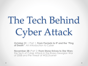 The Tech Behind Cyber