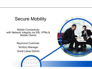 Secure Mobility - Grand Rapids ISSA