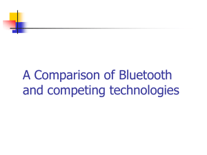 Bluetooth Comparison