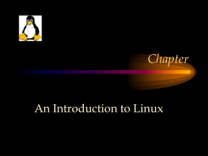 Linux Intro Comparison