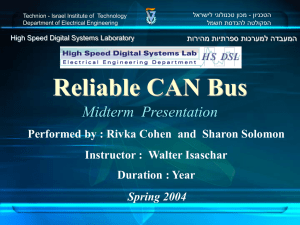 Mid Semester Presentation - High Speed Digital Systems Laboratory