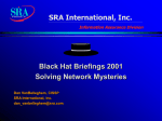 Solving Network Mysteries