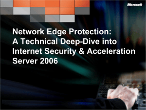 Network Edge Protection: A Technical Deep