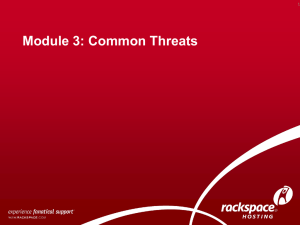 03-WAS Common Threats - Professional Data Management