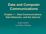 Chapter 1 - William Stallings, Data and Computer Communications