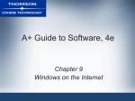 A+ Guide to Software, 4e - c-jump