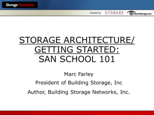 Storage Networking Technology Overview