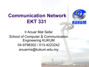 Introduction to Communication Network