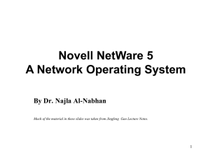 What is Novell NetWare? - Home