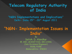 NGN- Implementation Issues in India