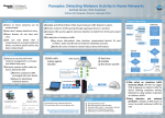Panoptes: Detecting Malware Activity in Home Networks Sarthak Grover, Nick Feamster Problem Panoptes