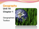 Geographer`s Tools Power Point 1