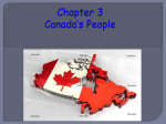 Chapter 3 Canada*s People