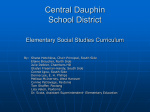 Central Dauphin School District Elementary Social Studies