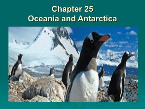 Chapter 25 Oceania and Antarctica