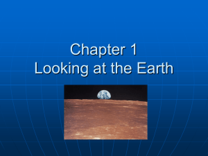 Chapter 1 Looking at the Earth