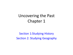 Uncovering the Past Chapter 1