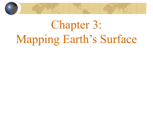Mapping Earth`s Surface