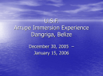Arrupe Immersion Program