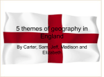5 themes of geography in England